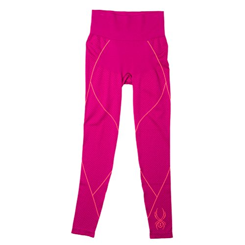 Spyder Olympian Womens Long Underwear Pants (Previous Season) - XSmall-Small/Wild-Bryte Pink (Thermal Underwear Spyder compare prices)