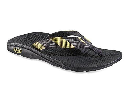 New Chaco Men's Flip Ecotread Sandals Longitude Black 9