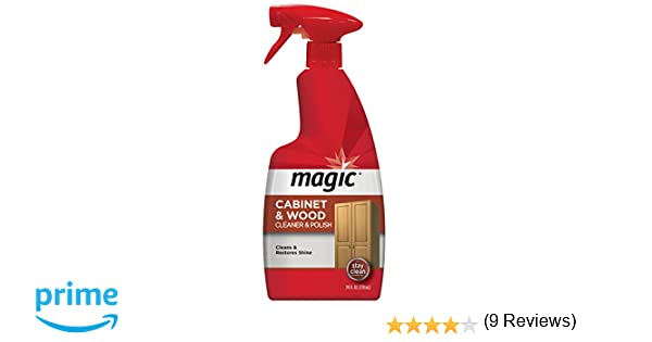 Amazon.com: Magic American Cabinet and Wood Cleaner & Polish, 24 ...
