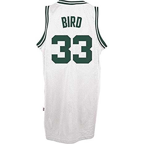 Adidas-Camiseta Maillot de público Larry Bird Celtics, Color - Blanco, tamaño US XL: Amazon.es: Zapatos y complementos