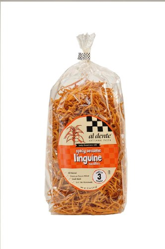 Al Dente Spicy Sesame Linguine, 12-Ounce Bag (Pack of 6)