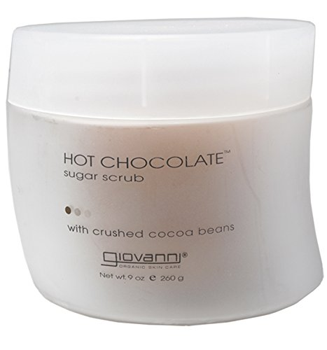 Giovanni Sugar Scrub, Hot Chocolate, 9 oz (260 g) (Pack of 2)