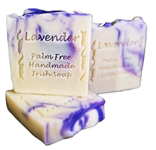 Palm Free Irish Lavender Creamy Soap Bar - Handcrafted in Ireland