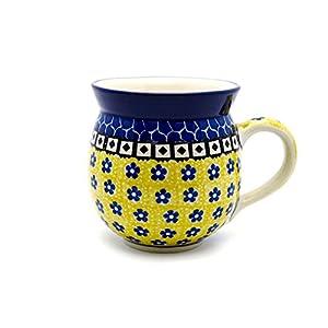 Polish Pottery 16 Oz. Bubble Mug – Sunburst Ceramika Artystyczna