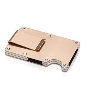 Money Clip Men Metal Wallet Credit Card Business Card Holder 77.5g by JIMITE