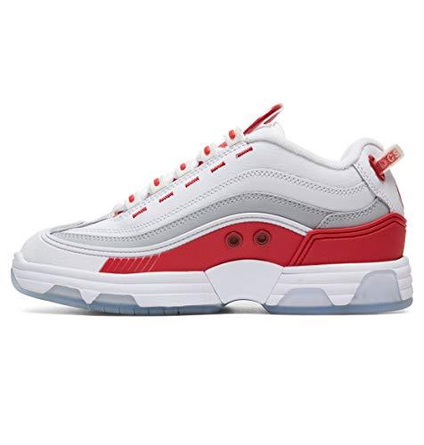 Femme Legacy Pour Baskets red Adjs200024 Blanc Og Shoes Dc White TxOZ7