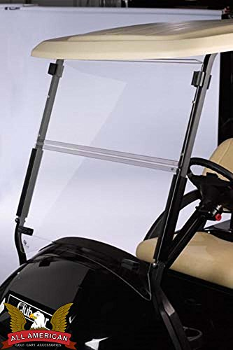 Clear Club Car Precedent Golf Cart Windshield