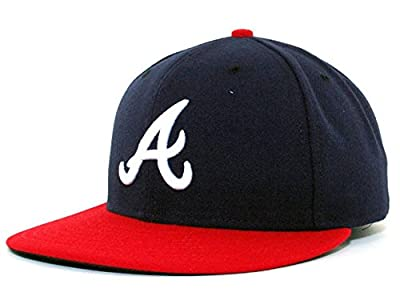 New Era Men's 59FIFTY? Authentic On-Field - Atlanta Braves Youth