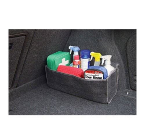 Vauxhall Corsa Boot Tidy Storage Bag Organiser Luggage Compartment Velour Travel