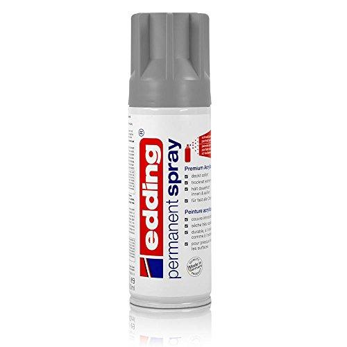 edding® permanent spray, seidenmatt Silber