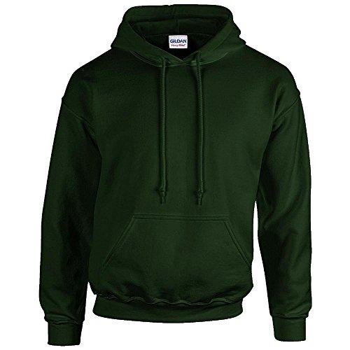Gildan Men's Heavy Blend Drawcord Hooded Sweatshirt, Medium, (Garnet Mens Sweatshirt)
