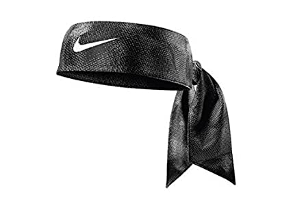 Nike AC3905-446 Printed Dri-Fit Head Tie, One Size (Chlorine Blue