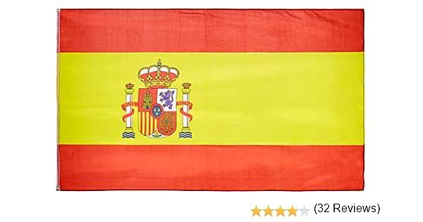 MM 16279 - Bandera de España, Resistente a la Intemperie, 250 x ...
