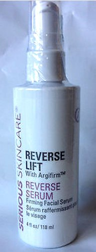 Serious Skincare Reverse Lift Firming Facial SERUM with Argifirm 4 oz Super Size~ 4X Normal Size