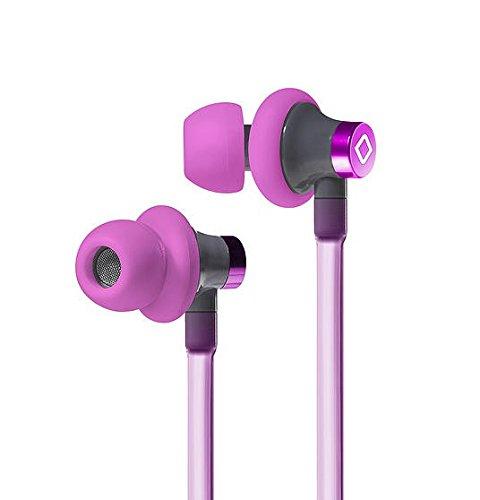 Aircom A3 Airtube Stereo Headset, Active, Pink