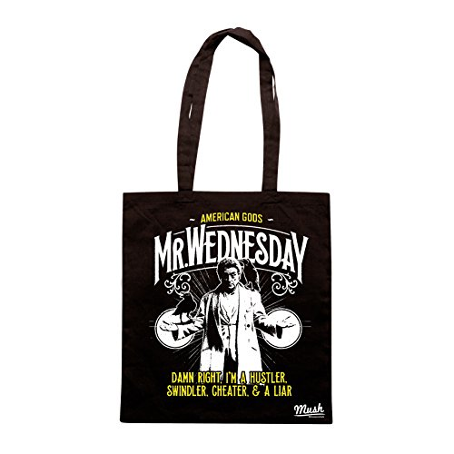 Borsa WEDNWESDAY AMERICAN GODS SERIE TV - Nera - FILM by Mush Dress Your Style