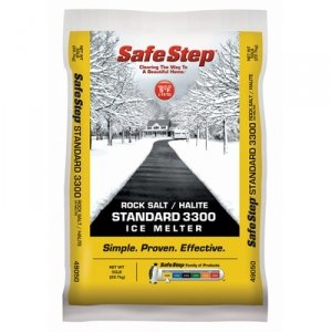 Best Price! Safe Step Rock Salt/Halite Standard 3300 Ice Melter - 50 lbs.