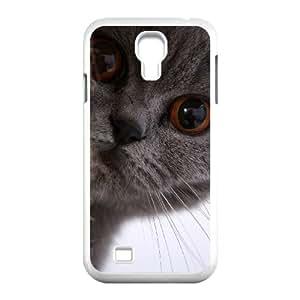 Winfors British Shorthair Cat Phone Case For Samsung Galaxy S4 i9500 [Pattern-5]