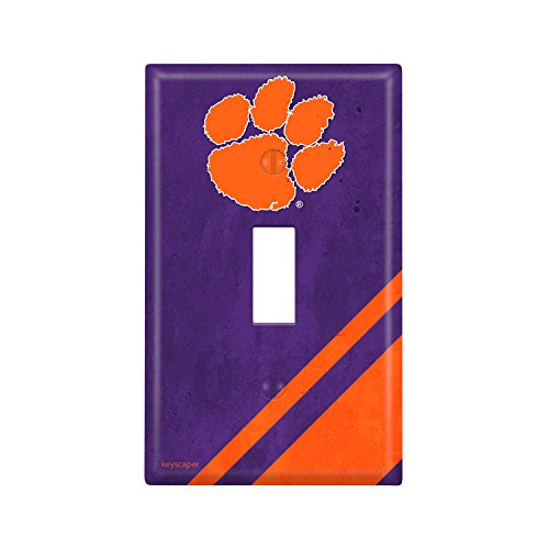 Clemson Tigers Single Toggle Light Switch Cover NCAA