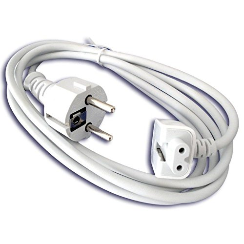 13 Inch Plug - Extension Wall Cord Plug Eu Euro European Union Standard for Macbook 11 Inch 13 Inch 60w Macbook Pro 15- Or 17-inch 85w Power Adapter