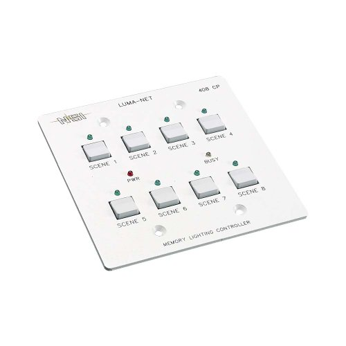 Leviton N0408-CP0 Remote Memory Control Panel with 8 Programmable ()