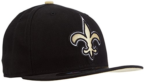 NFL New Orleans Saints On Field 5950 Game Cap, 7 - Field 59fifty 5950 Game Cap