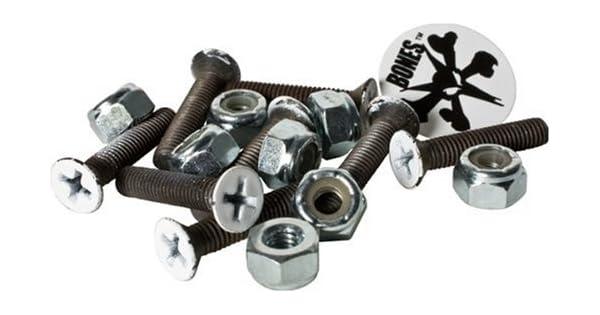Amazon.com: Bones 1-Inch – Tabla de skate (hardware de ...