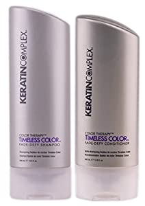 Keratin Complex Color Therapy Timeless Fade Defy Duo Shampoo and Conditioner, 13.5 Ounce