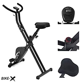 Esprit BIKE-X Fitness Belt Driven Exercise Bike Foldable Fit...