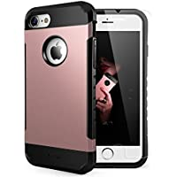 Yesgo Slim Case for iPhone 7 w/TG Screen Protector