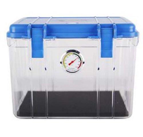 SLR Dry Box Humidity Cabinets Camera Sealed Lens + Electronic Dehumidifier(Blue)