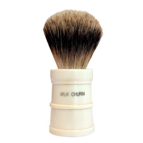 Milk Churn MC Best Badger Shaving Brush brush by Simpson