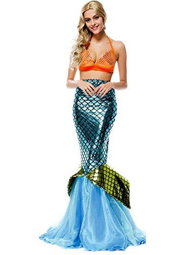 KXYKZM Womens Halloween Praty Cosplay Sexy Mermaid Costum ()