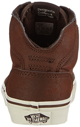 VansY WINSTON HI LEATHE - Zapatillas Niños^Niñas marrón - Braun (Leather brown/brown)