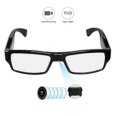 YAOAWE HD 1080P Polarized Sunglasses with Mini Hidden Camera, Video Record+Loop Recording by YAOAWE