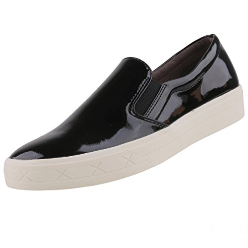 TAMARIS Damen Slipper Schwarz
