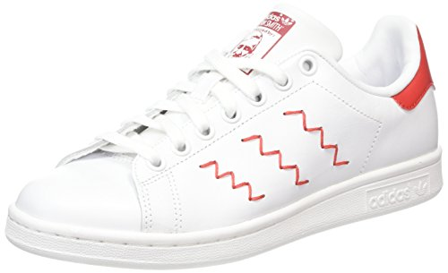 Stan Blanc Pied De Smith Red ftwr Chaussures Course Ftwr Collegiate White Adidas dxq6Ypd