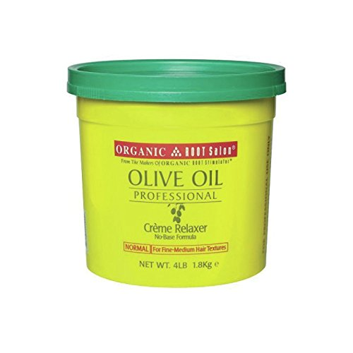 Organic Root Stimulator Pro Olive Relaxer, Normal, 64 Ounce
