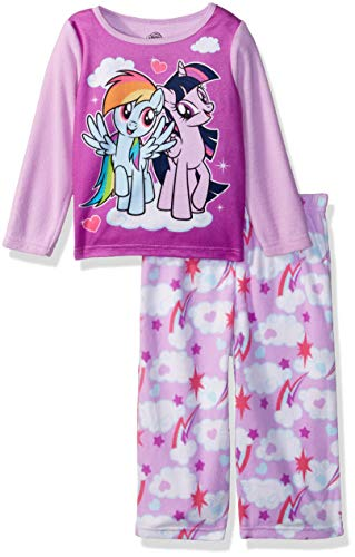My Little Pony Girls Magical Friends 2-Piece Fleece Pajama Set