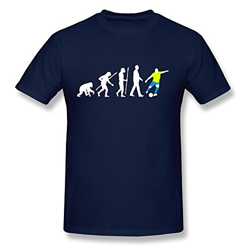 PTYS Men's Tees Evolution Football Size XXL Navy