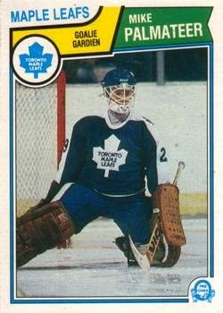 Mike Palmateer Hockey Card 1984-85 O-Pee-Chee #308 Mike Palmateer