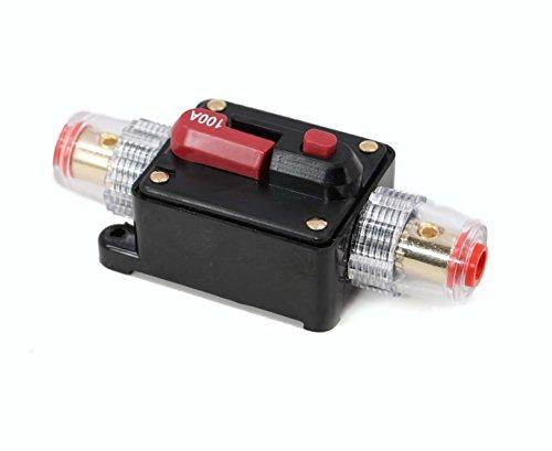 Xtenzi 100A Car Audio Inline Circuit Breaker (12V - 24 DC)