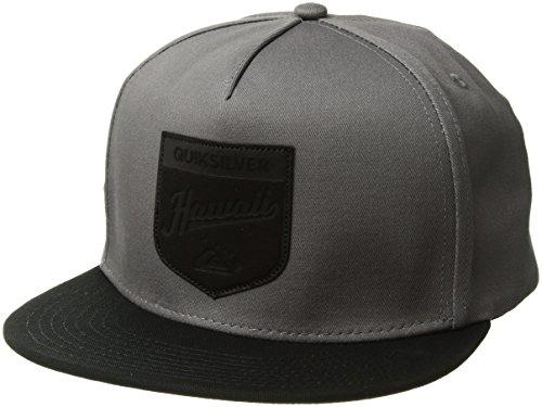 Victory Cap (Quiksilver Men's Victory Trucker Hat, Grey, One Size)