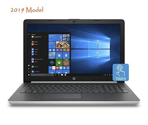 HP 15-da000 Slim Touchscreen Laptop in Silver 8th Gen Intel i5 up to 3.4 GHz 8GB 1TB 15.6in HD Webcam WiFi (Renewed)