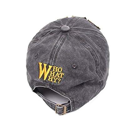 ZSOLOZ Baseball Caps New Fashion Brand Cap Baseball Cap Fitted Hat Casual Cap Gorras 5 Panel Hip Hop Snapback Hats Wash Cap For Men Women Boy Unisex