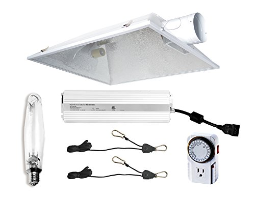 Hydro Crunch 1000-Watt Grow Light Digital Dimmable HPS System for Plant - 6