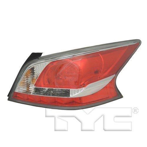Nissan Altima Tail Light Cover - Go-Parts OE Replacement for 2014-2015 Nissan Altima Rear Tail Light Lamp Assembly/Lens / Cover - Right (Passenger) Side 26550-9HM2A NI2801204 for Nissan Altima
