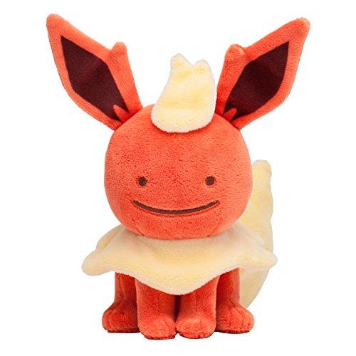 Pokemon Center Original  Stuffed Poke Plush Doll Ditto Flare