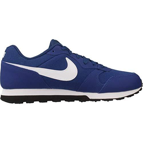 GS Bleu Blue Black NIKE White Gym Basses 001 2 Sneakers Runner MD Homme ww0qxzP