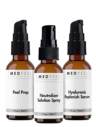 Chemical Peel Essentials Kit, by Medpeel, Kit includes everything you need for a basic face peel
